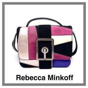 REBECCA MINKOFF HOOK UP TOP HANDLE SMALL CROSSBODY